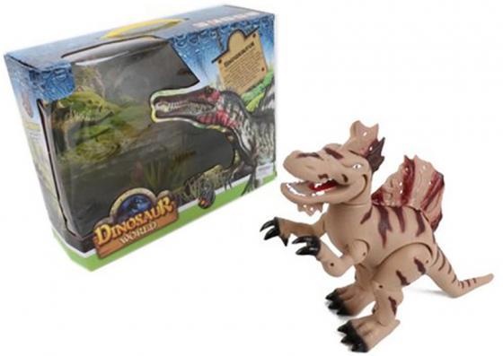 Интерактивная игрушка Shantou Gepai Dinosaur World от 3 лет коричневый 8802 игрушка good dinosaur 62006