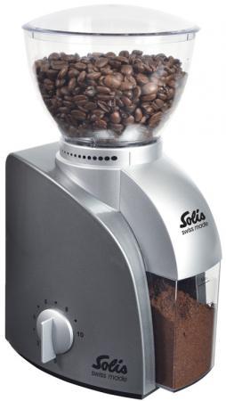 Кофемолка Solis Scala Coffee grinder 100 Вт серебристый кофемолка solis scala coffee grinder 100 вт серебристый