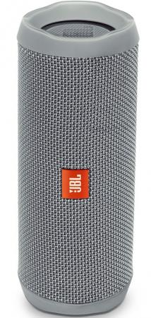 Акустическая система JBL Flip 4 серый JBLFLIP4GRY metal chain handbag style pu tpu full body case w card slot for iphone 6 4 7 gold