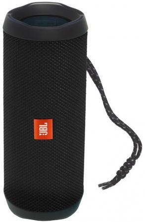 Акустическая система JBL Flip 4 черный JBLFLIP4BLK цена и фото