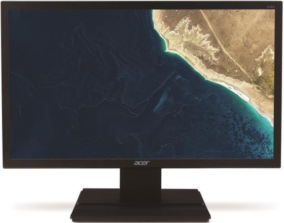 """Монитор 24"""" Acer V246HLbd черный TN 1920x1080 250 cd/m^2 5 ms DVI VGA UM.FV6EE.001 цена и фото"""