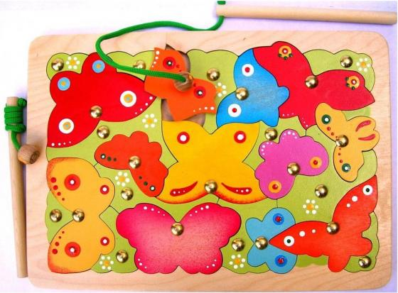 Магнитная игра Крона Бабочки, 24 элемента 143-025 фотопанно флизелиновое divino 143 ангелы фреска 143 1 025