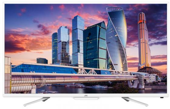 Телевизор LED 32 JVC LT-32M555W белый 1366x768 50 Гц Wi-Fi RJ-45 телевизор жк jvc lt 32m585w 32 smart tv белый
