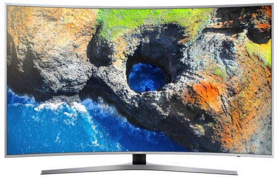 Телевизор LED 55 Samsung UE55MU6500UXRU серебристый 3840x2160 Wi-Fi Smart TV RJ-45 триммер philips brt 383 15 bikinigenie