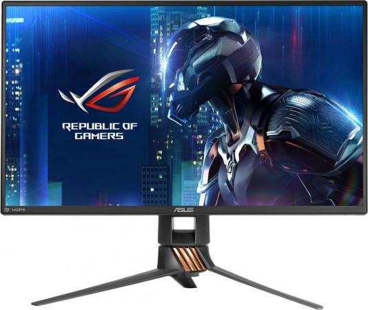 Монитор 24.5 ASUS PG258Q черный TN 1920x1080 400 cd/m^2 1 ms HDMI DisplayPort Аудио USB pg258q