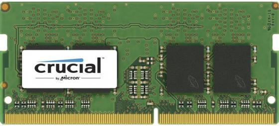 Оперативная память для ноутбуков SO-DDR4 2Gb PC4-19200 2400MHz Crucial CT2G4SFS624A память для ноутбуков