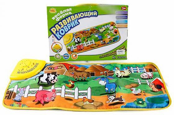 Развивающий коврик музыкальный Shantou Gepai Веселая ферма YQ2999 ebulobo коврик развивающий веселая ферма