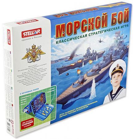 Настольная игра развивающая СТЕЛЛАР Морской бой 1121 хасбро дорожная игра морской бой other games