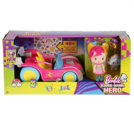 Набор Mattel Барби «Виртуальный мир» Автомобиль с фигурками DTW18 виртуальный сервер