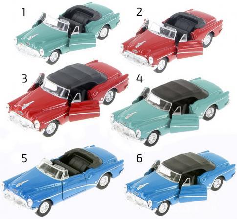 Автомобиль Welly Buick Skylark 1953 1:34-39 цвет в ассортименте сцепление buick