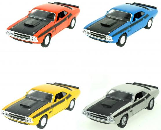 Автомобиль Welly Dodge Challenger 1970 1:34-39 цвет в ассортименте