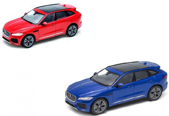 Автомобиль Welly Jaguar F-Pace 1:24 цвет в ассортименте
