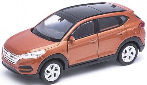 Автомобиль Welly Hundai Tucson. 1:34 коричневый 43718 автомобиль welly hundai tucson 1 34 коричневый 43718