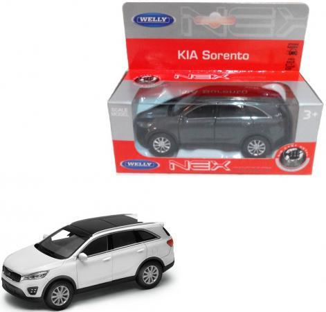 Автомобиль Welly Kia Sorento 1:34-39 цвет в ассортименте 43710
