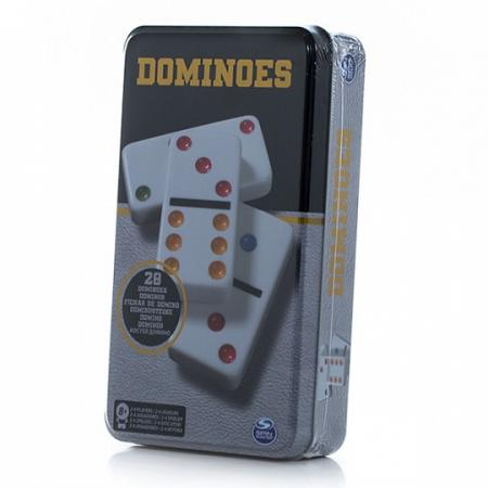 Настольная игра домино SPIN MASTER 778988636008 настольная игра свинтус зомби 1499