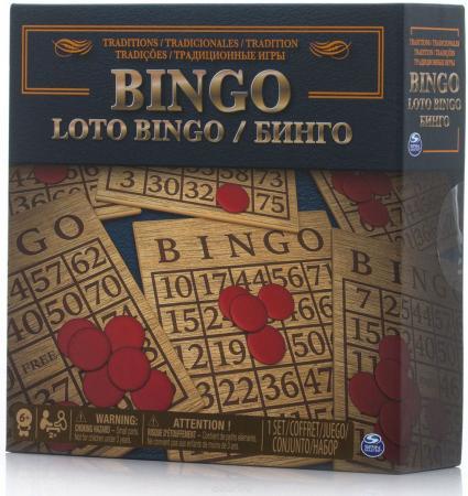 Настольная игра лото SPIN MASTER Лото - Бинго 6038108 настольная игра ладья с лото c 197