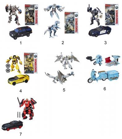 Игрушка Transformers Трансформеры 5: Последний рыцарь - Делюкс ассортимент, C0887 роботы transformers трансформеры 5 делюкс автобот сквикс