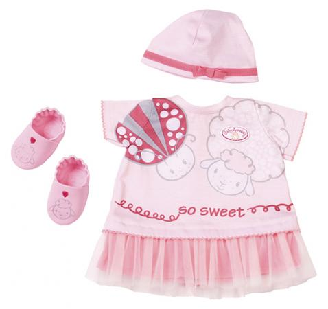 Одежда для кукол Zapf Creation Baby Annabell одежда для теплых деньков одежда для мужчин