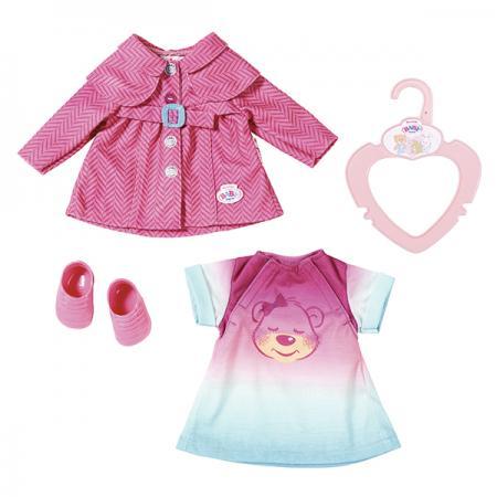 Одежда для кукол Zapf Creation my little BABY born Комплект одежды для прогулки basiс baby платье распашонка my little flower