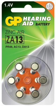 Батарейки GP ZA13-D6 PR48 6 шт 60/300 original a1419 lcd screen for imac 27 lcd lm270wq1 sd f1 sd f2 2012 661 7169 2012 2013 replacement