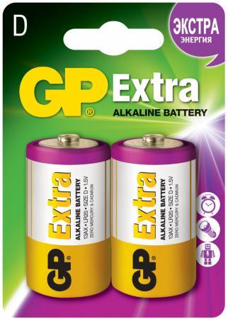 Батарейки GP Extra 13AX-2CR2 D 2 шт 20/160