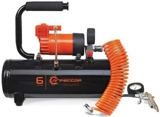 Автомобильный компрессор Агрессор AGR-6LT компрессор агрессор agr 35l