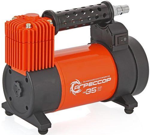 Автомобильный компрессор Агрессор AGR-35L автомобильный пылесос агрессор agr 100h сухая уборка оранжевый