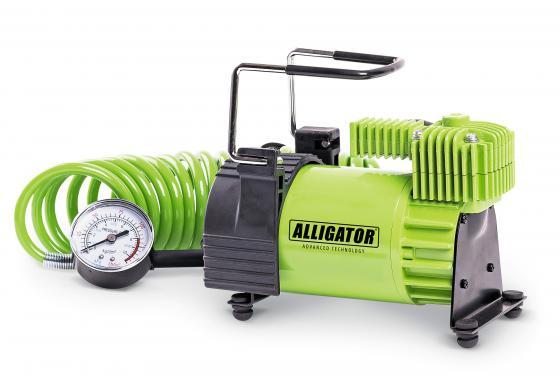 Автомобильный компрессор Аллигатор AL-400 насос автомобильный airline pa 400 02 400