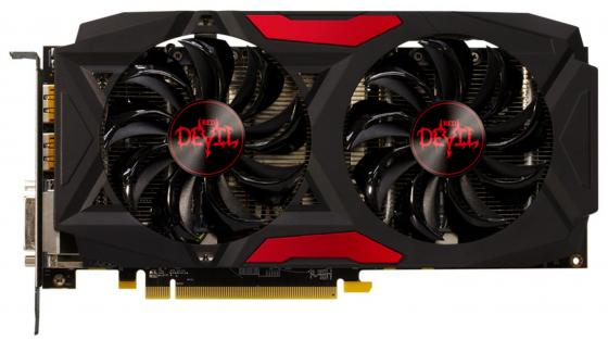 Видеокарта 8192Mb PowerColor RX 580 Red Dragon Radeon PCI-E HDMI DVI AXRX 580 8GBD5-3DHDV2/OC Retail