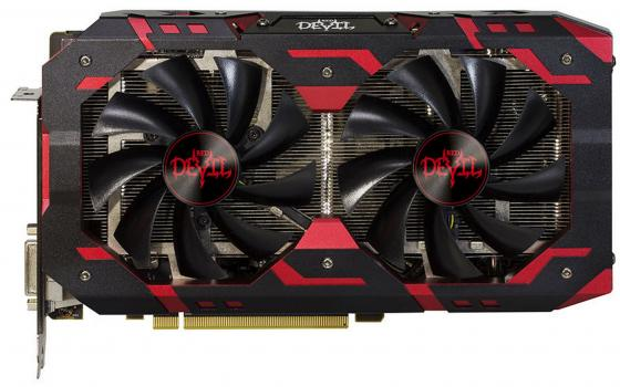 Видеокарта 8192Mb PowerColor RX 580 PCI-E HDMI DVI AXRX 580 8GBD5-3DHG/OC Retail видеокарта 2048mb powercolor hd5450 pci e dvi hdmi ax5450 2gbk3 shv7e retail