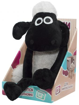 Мягкая игрушка-грелка Warmies Барашек Шон черный текстиль AAR-SS-1 грелки warmies cozy dogs игрушка грелка мопс пагси