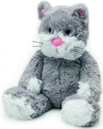 Мягкая игрушка-грелка кот Warmies Cozy Plush Кот серый текстиль CP-CAT-2 warmies игрушка грелка cozy plush кот