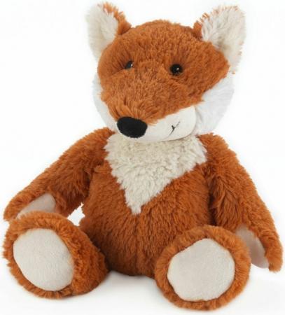 Мягкая игрушка-грелка лисица Warmies Cozy Plush Лиса коричневый текстиль CP-FOX-2 грелки warmies cozy plush игрушка грелка дракон