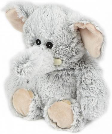 Мягкая игрушка-грелка слон Warmies Cozy Plush Слон серый текстиль искусственный мех CPM-ELE-1 intelex group игрушка грелка warmies овечка