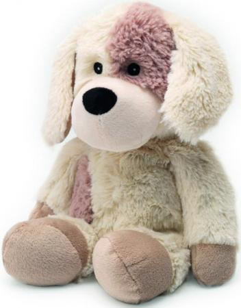 Мягкая игрушка-грелка собака Warmies Cozy Plush Собачка бежевый текстиль искусственный мех CP-PUP-2 грелки warmies cozy plush игрушка грелка динозавр