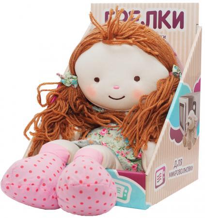 Мягкая игрушка-грелка Warmies Warmhearts - Кукла Элли 30 см разноцветный текстиль RD-ELL-1
