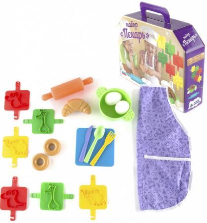 Игровой набор Пластмастер Пекарь 17 предметов 22036 пластмастер игровой набор большой набор инструментов