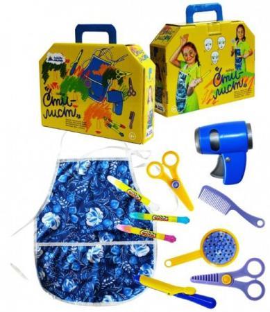 Игровой набор Пластмастер Стилист 9 предметов 22023 игровой набор игрушкин стилист 22023