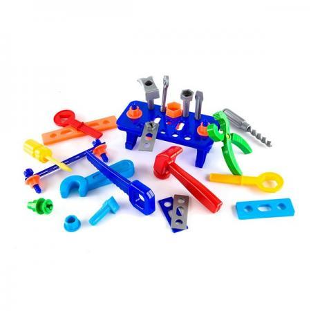 Игровой набор Пластмастер Большой набор инструментов Игрушкин 22125