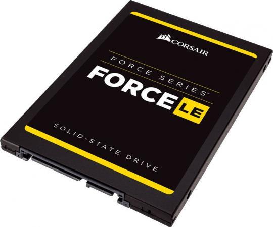 Твердотельный накопитель SSD 2.5 480GB Corsair LE Read 560Mb/s Write 530Mb/s SATAIII CSSD-F480GBLE200B твердотельный накопитель ssd m 2 64gb transcend mts400 read 560mb s write 160mb s sataiii ts64gmts400