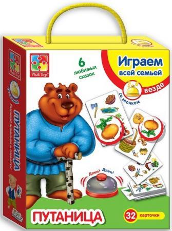 Настольная игра развивающая Vladi toys Путаница со звонком VT2103-03