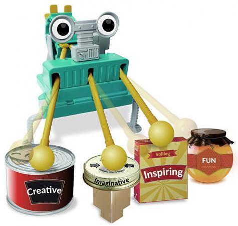 Игровой набор 4m Робот барабанщик 00-03372 творчество 4m фигурки из формочки принцесса 00 03528