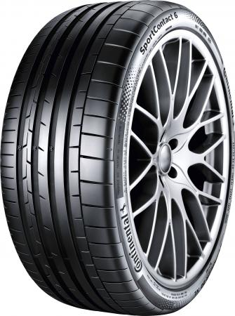 Шина Continental SportContact 6 FR 255/40 ZR19 100Y XL зимняя шина continental contivikingcontact 6 215 55 r16 97t