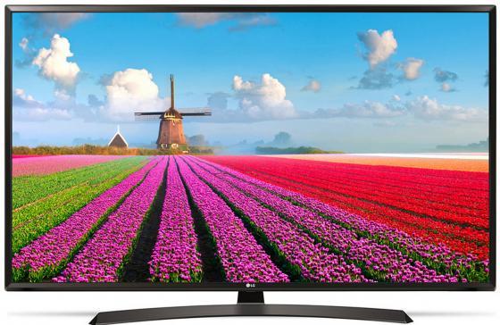 "Телевизор 43"" LG 43LJ595V черный 1920x1080 50 Гц Wi-Fi Smart TV USB RJ-45 WiDi"