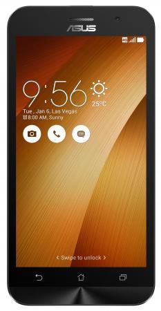 Смартфон ASUS ZenFone Go ZB500KL золотистый 5 32 Гб 3G LTE Wi-Fi GPS 90AX00A8-M02060 смартфон asus zenfone 4 max zc554kl черный 5 5 16 гб lte wi fi gps 3g 90ax00i1 m00010