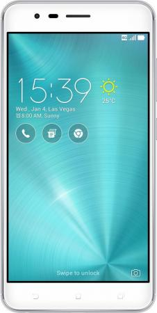 Смартфон ASUS ZenFone 3 Zoom ZE553KL серебристый 5.5 64 Гб LTE Wi-Fi GPS 3G 90AZ01H1-M00770 asus zenfone zoom zx551ml
