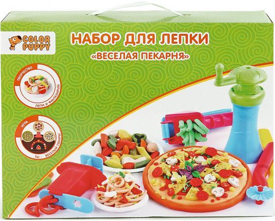 Набор для лепки Color Puppy Веселая пекарня, тесто 250 г, аксессуары 631027