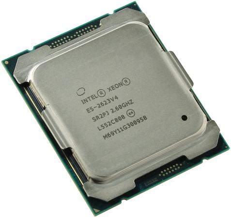Процессор Dell Intel Xeon E5-2623v4 2.6GHz 10M 4C 85W 338-BJER процессор dell intel xeon e3 1240v5 3 5ghz 8m 4c 80w 338 bhtxt