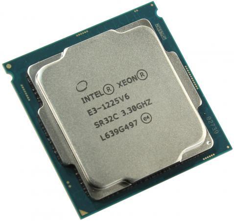 Процессор Intel Xeon E3-1225v6 3.3GHz 8Mb LGA1151 OEM процессор intel xeon e3 1230v6 3 5ghz 8mb lga1151 oem