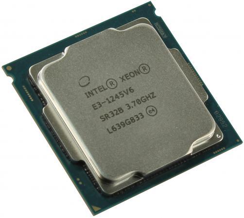 Процессор Intel Xeon E3-1245v6 3.7GHz 8Mb LGA1151 OEM цена и фото